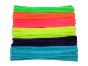 fluorescent-chenille-pipe-cleaners