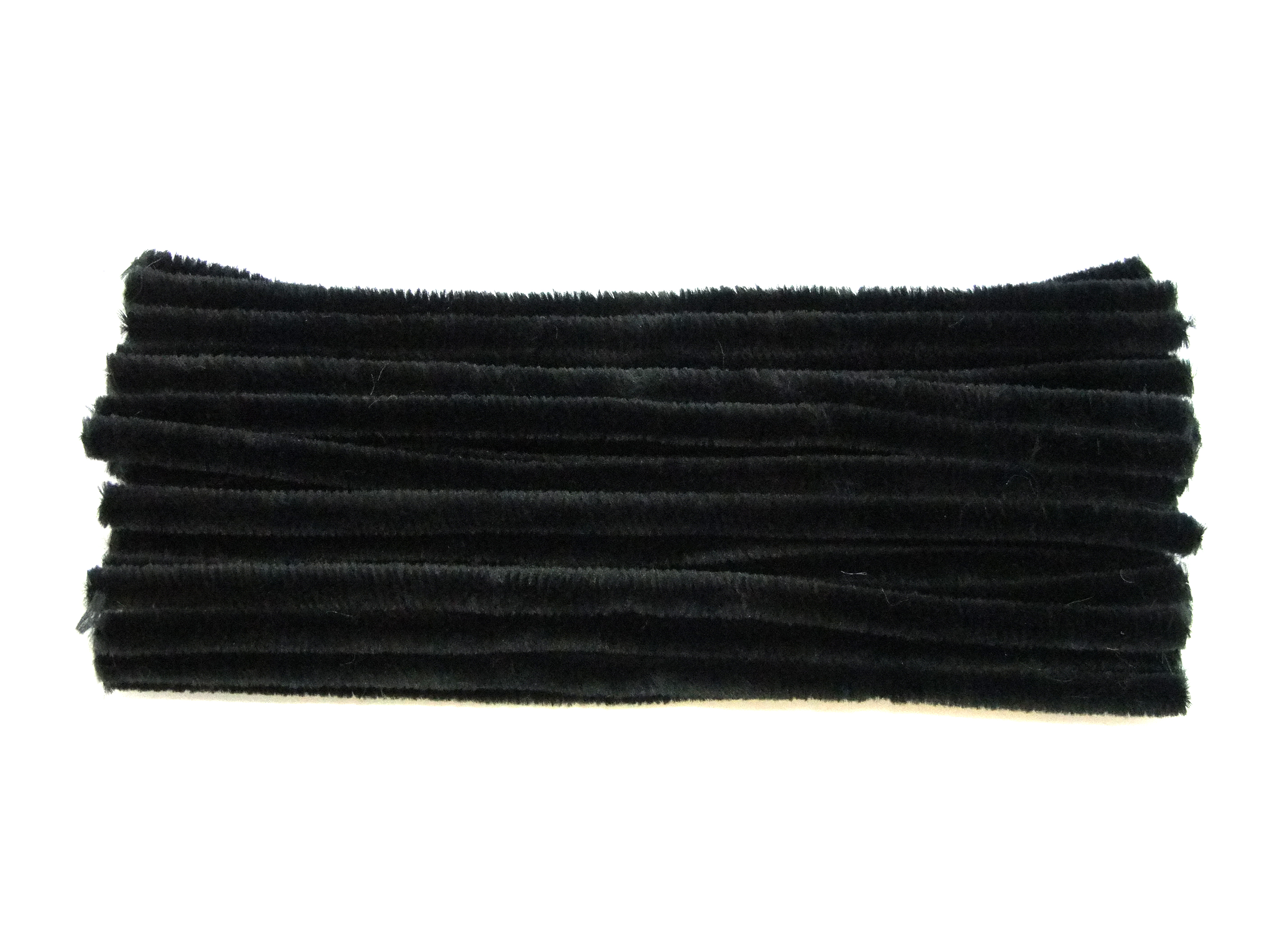 Choice Of Quantity Uk Made Luxury Black Bump Chenille Pipe Cleaners