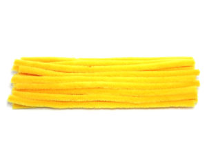 luxury-yellow-chenille-pipe-cleaners