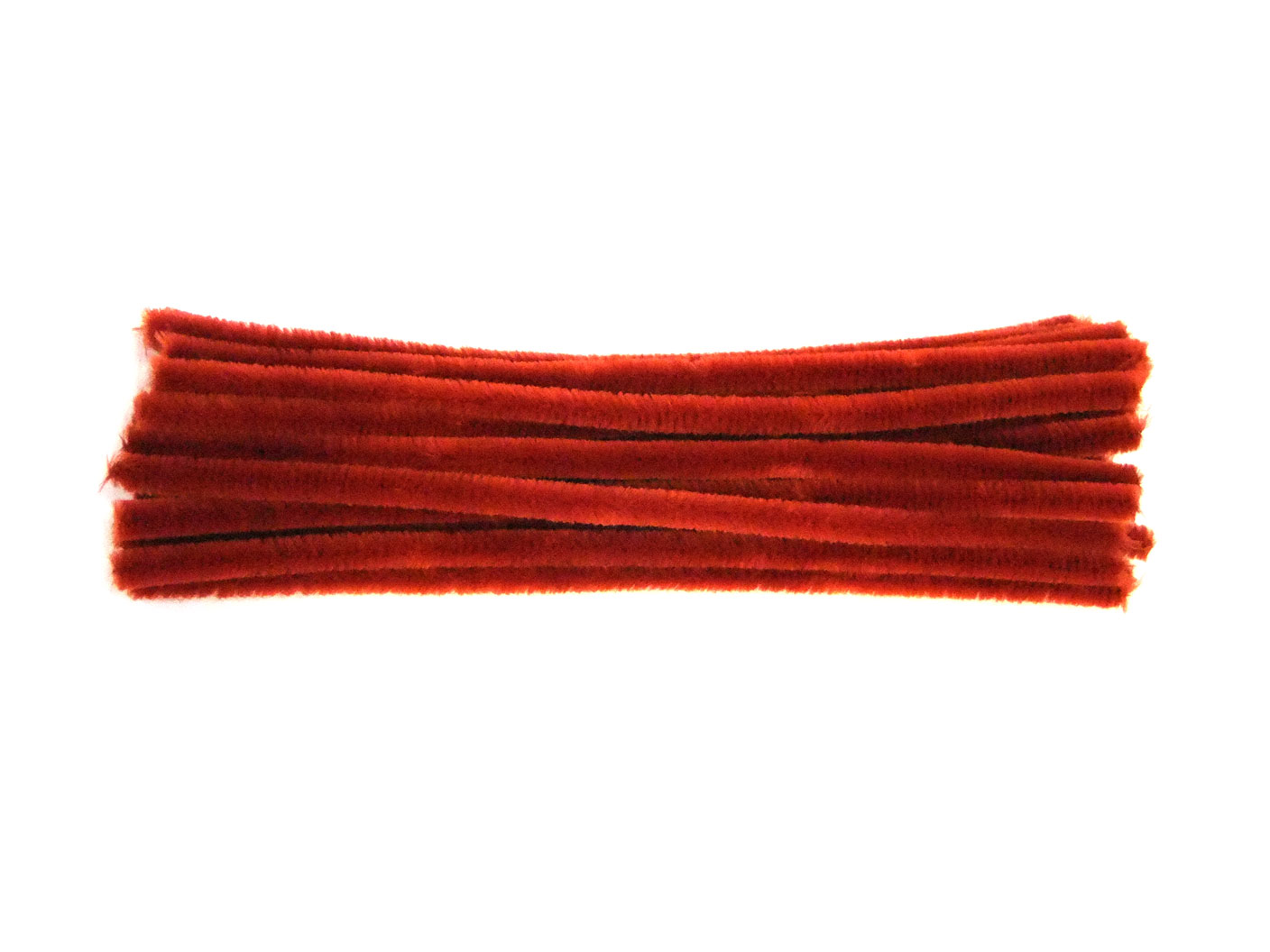 9mm or 12mmUK Made 6mm Luxury Orange Chenille Pipe Cleaners4mm