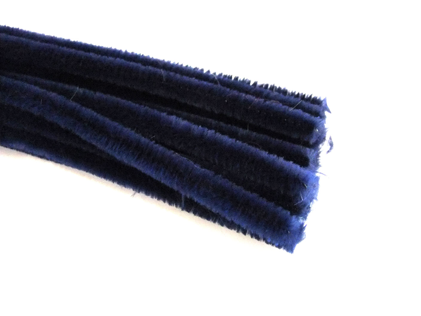 Luxury Dark Blue Chenille Pipe Cleaners