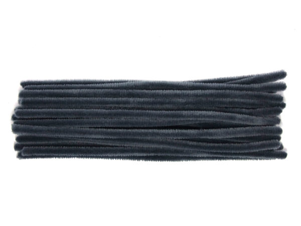 dark-grey-chenille-pipe-cleaners