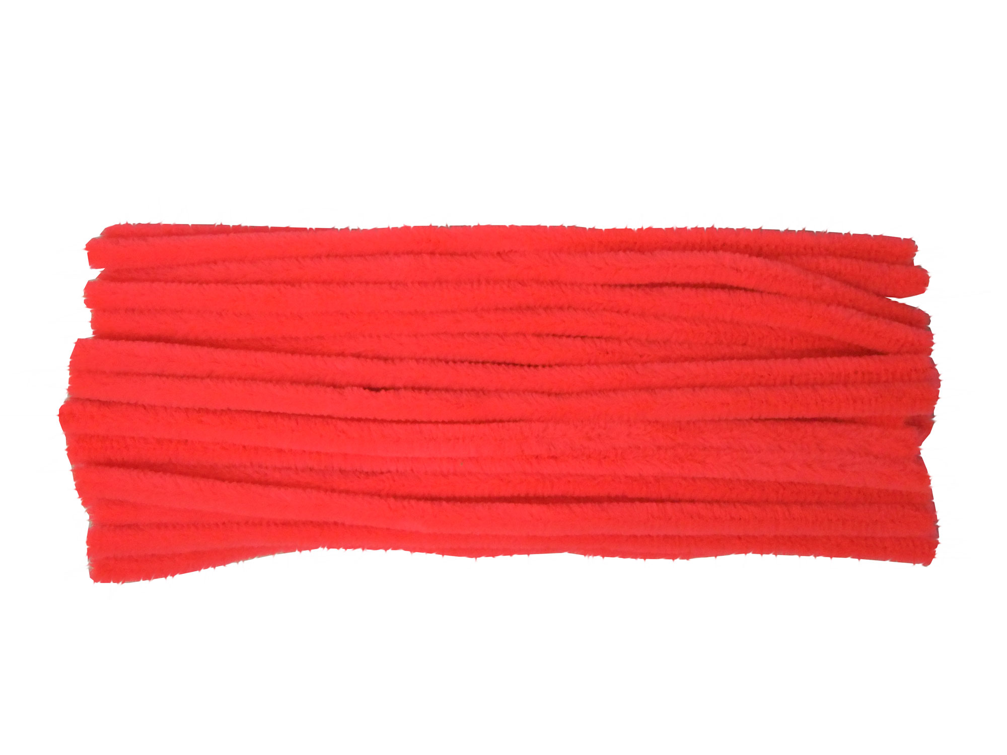 Fluorescent-pink-pipe-cleaners
