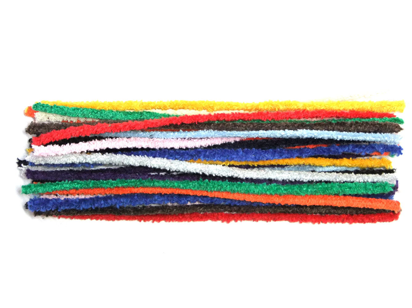 assorted cotton pipe cleaners