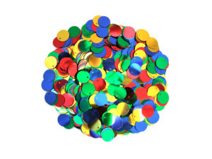 large flat round sequins