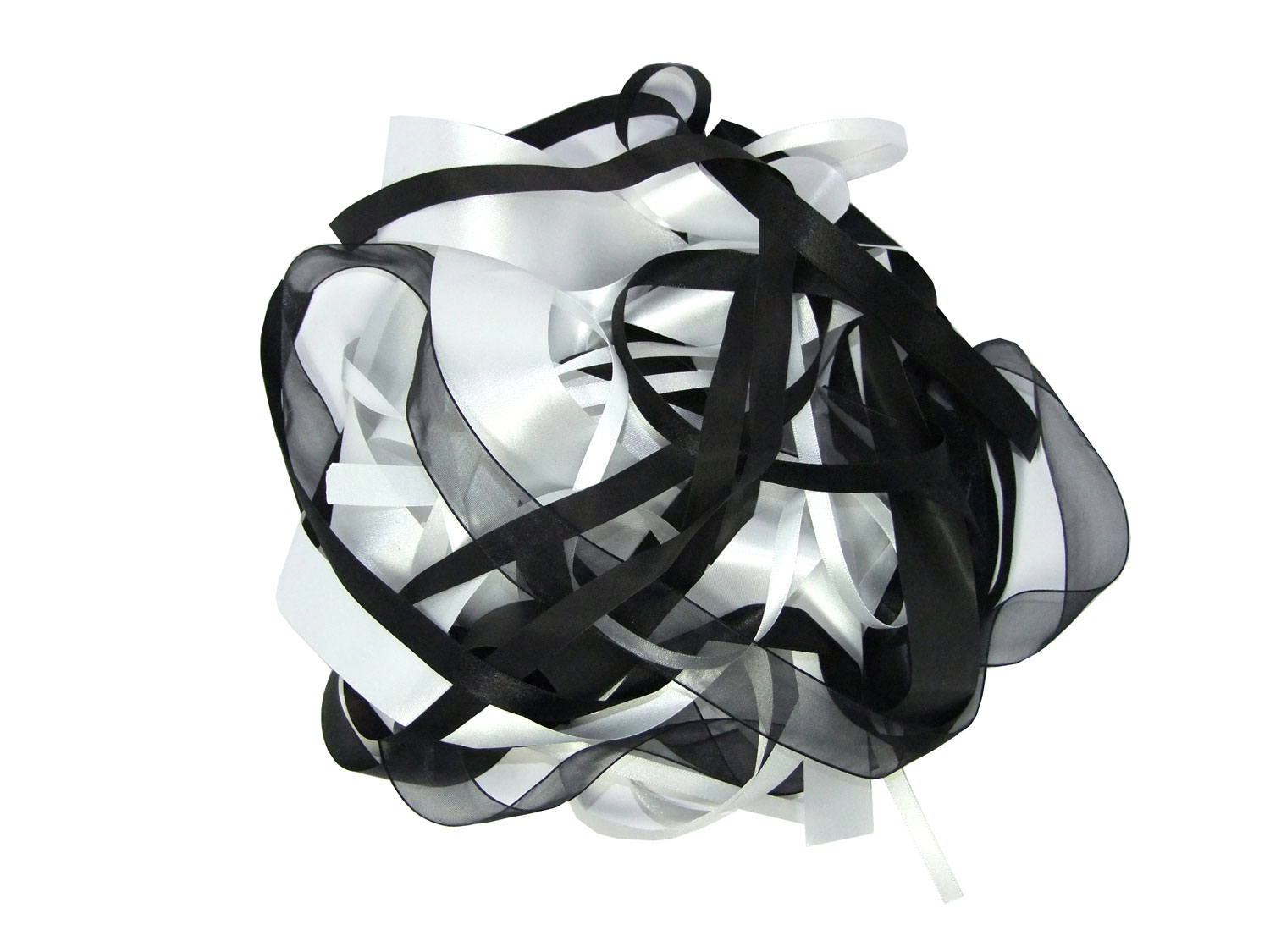 Ribbon Black & White Bargain Pack