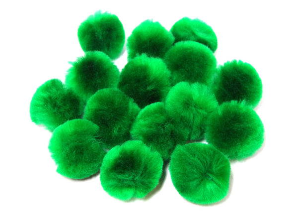 Green-Craft-Pom-Poms