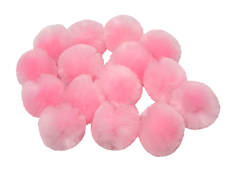 Craft Pom Poms Pink