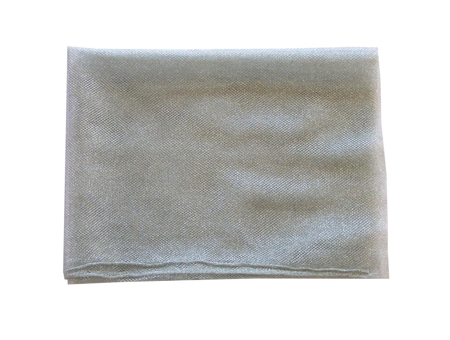 Metallic Silver Netting 91cm Wide (A Choice of Lengths)  03ed732e8