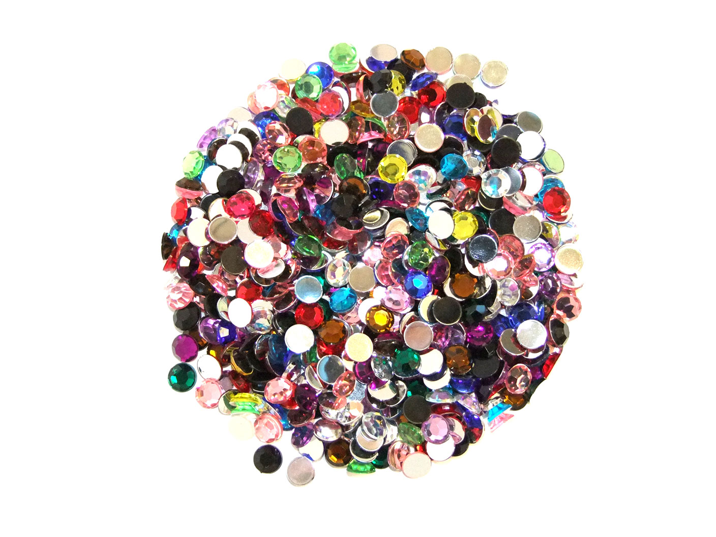 Assorted 10mm acrylic gems choice of pack sizes art for Plastic gems for crafts