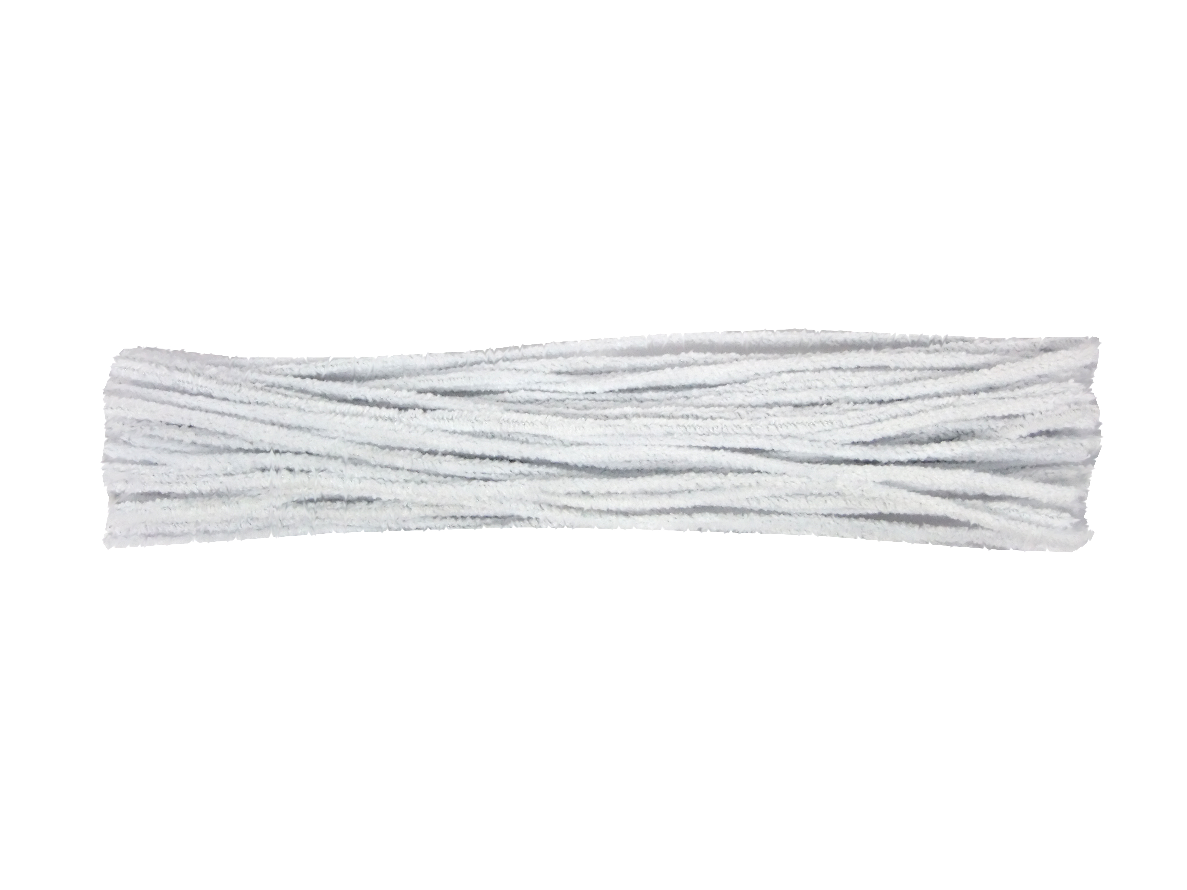 White Cotton Pipe Cleaners (Stiffer Wire) | Art & Craft Factory