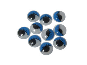 blue googly eyes 15mm