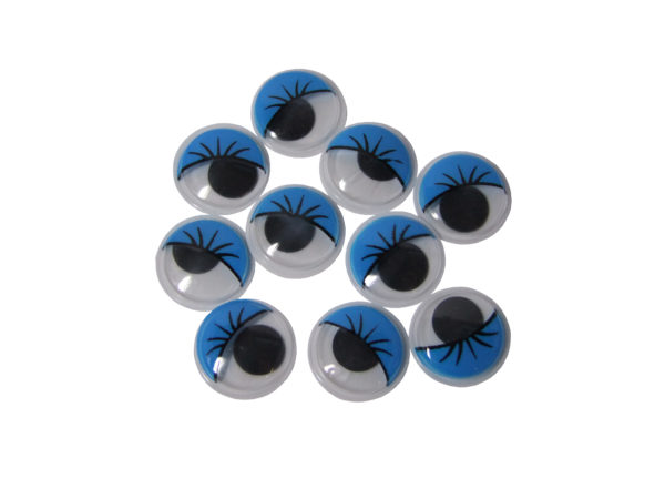 Blue Googly Eyes 20mm