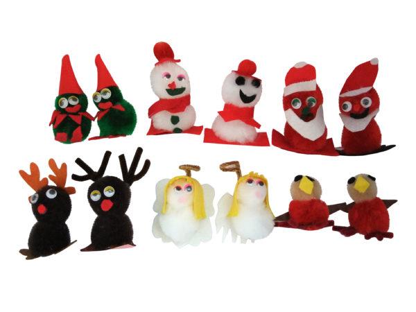 Christmas Pom Pom Pals