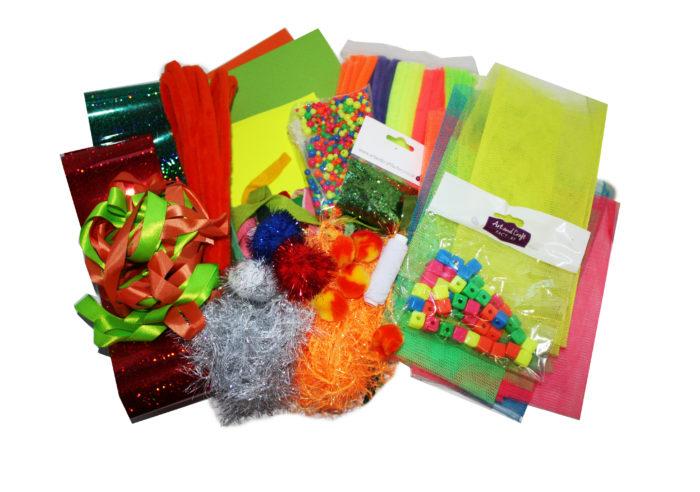 Fluorescent Craft Kit