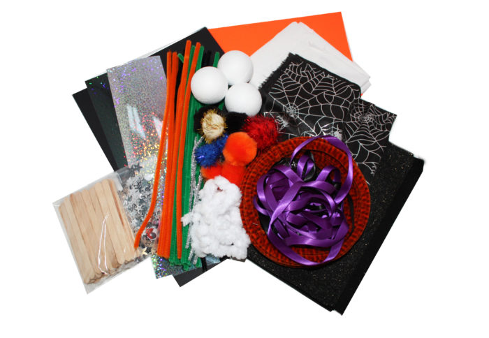 halloween crafty kit