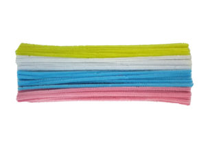 pastel pipe cleaners