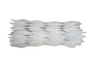 white bump chenille pipe cleaners