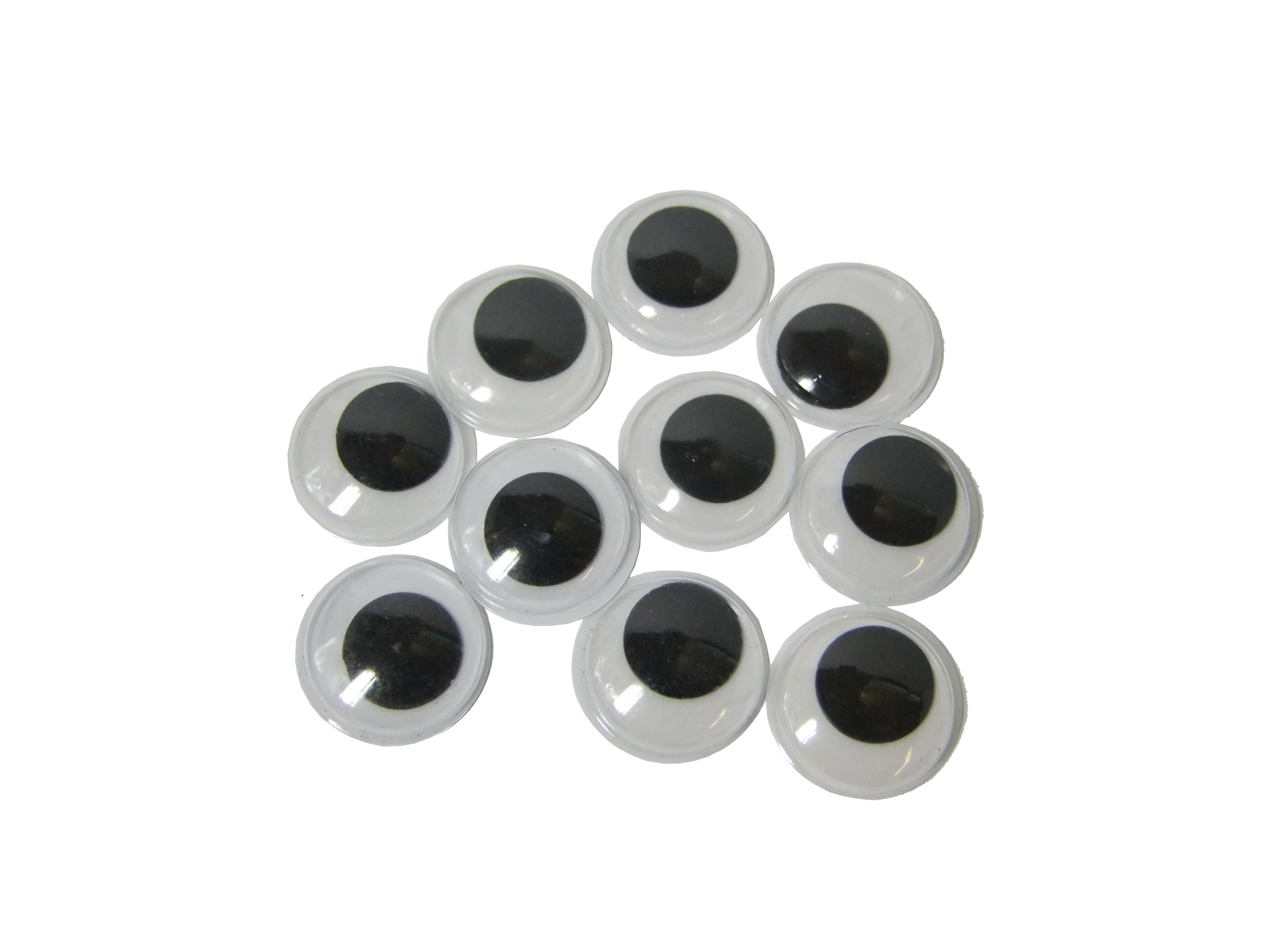 Googly eyes 15mm art craft factory home of online crafts for Large googly eyes crafts