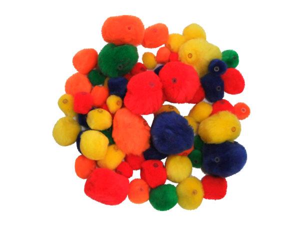 pom-pom-beads