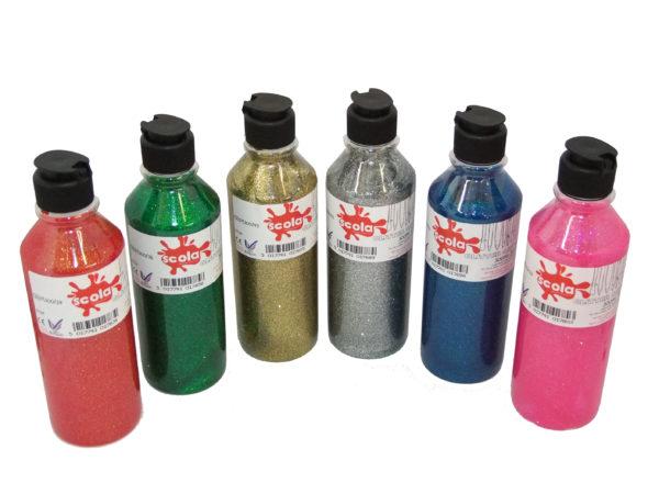 scola glitter paint