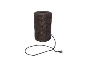jute natural chocolate brown twine