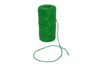 jute natural neon green twine