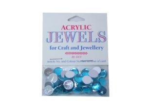 lt sapphire 10mm acrylic gems