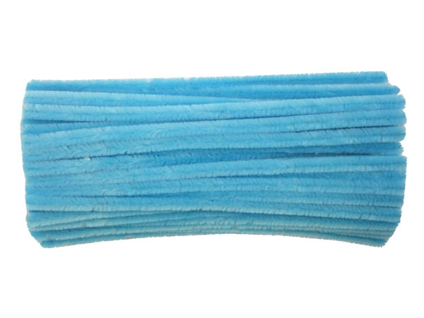 blue-chenille-pipe-cleaners