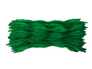 green-bump-chenille-pipe-cleaners