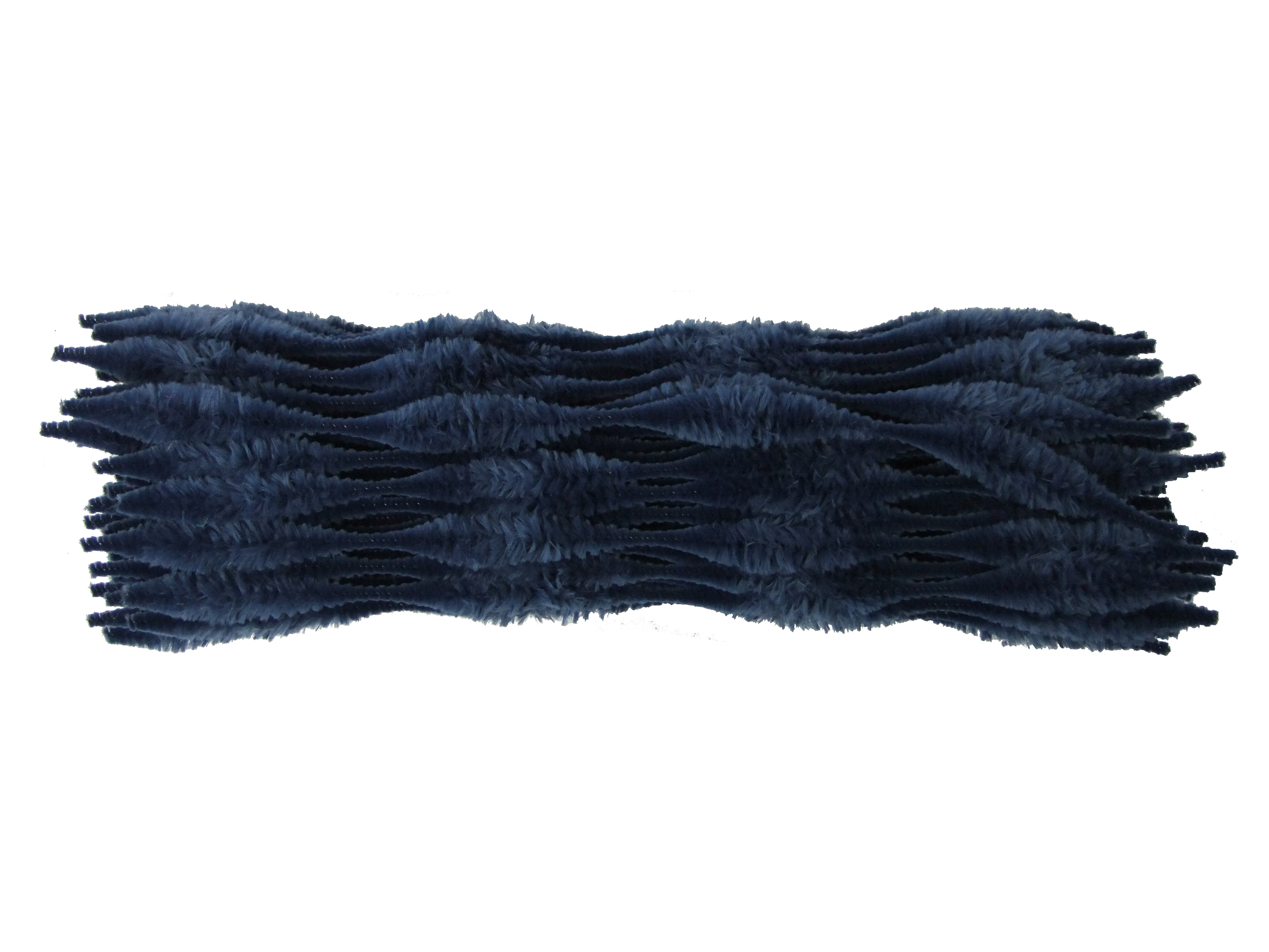 Uk Made Luxury Black Bump Chenille Pipe Cleaners Choice Of Quantity