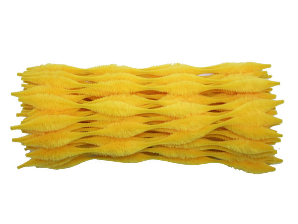 yellow-bump-chenille-pipe-cleaners