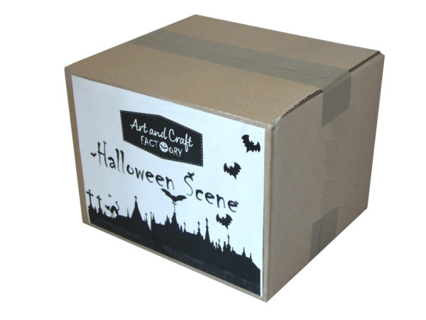 Halloween-scene