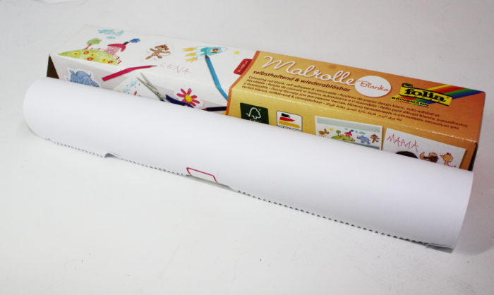 Sticky colouring poster