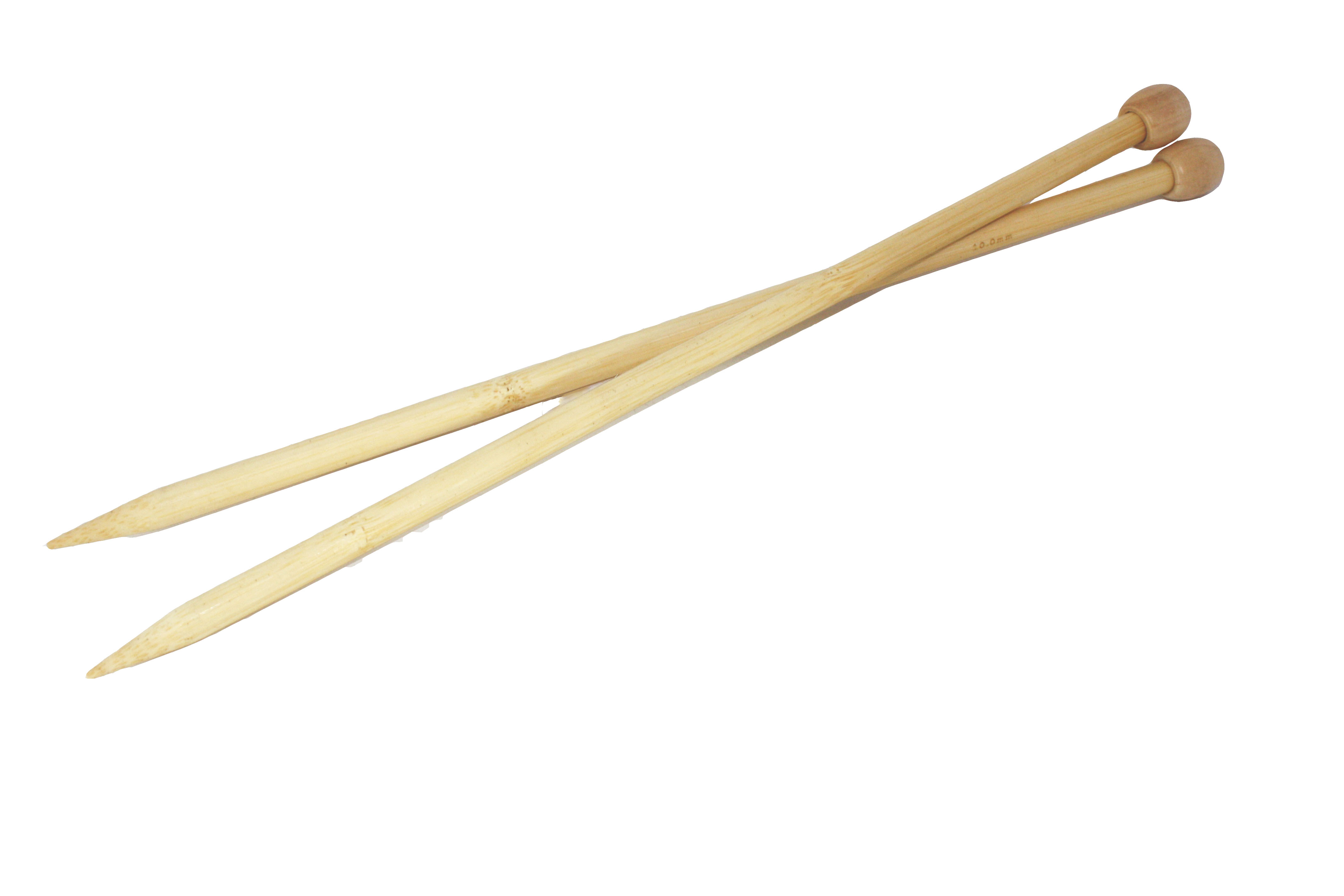 Knitting Needles Uk Flights : Bamboo knitting needles mm cm art craft factory