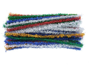 tinsel-loop-pipe-cleaners