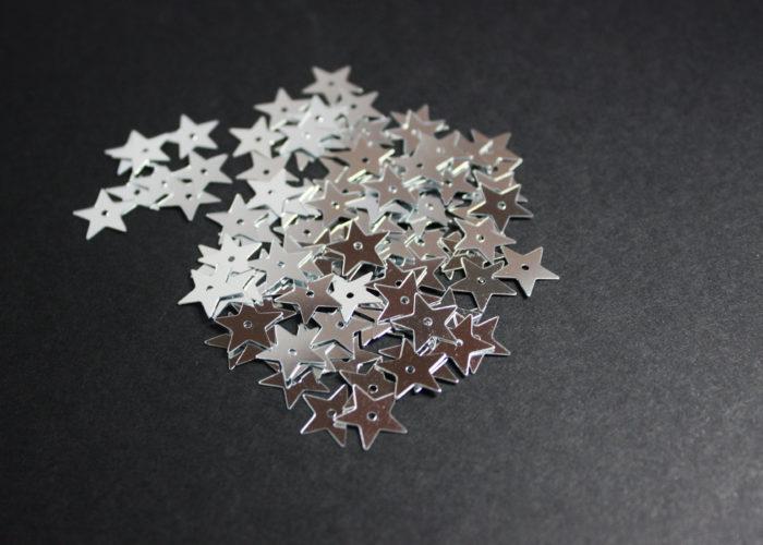 Mini Silver Stars
