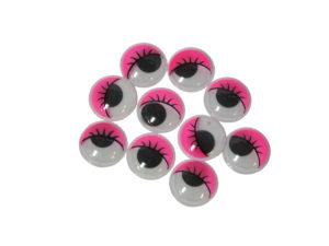 Googly Eyes Pink 15mm