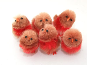 Fluffy Robins