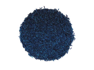 coloured rice for sensory play royal blue