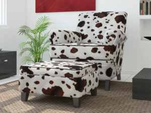 cow upholstery