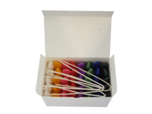 scola candle wax modelling crayons