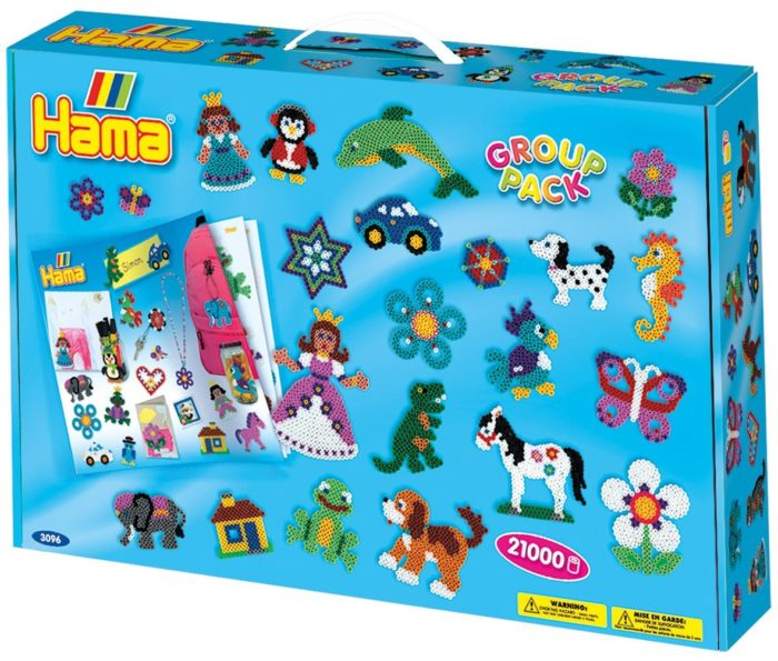 hama beads group pack carry case
