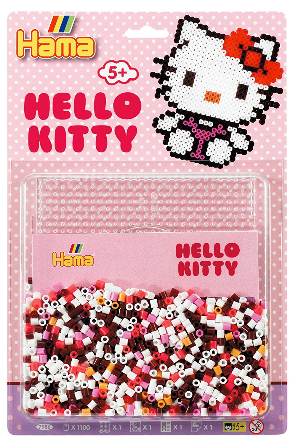 hama beads hello kitty