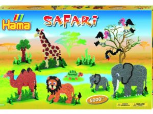 hama beads safari