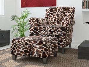 Giraffe upholstery