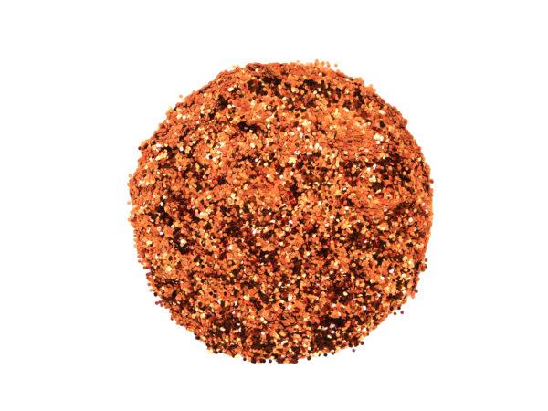 orange-glitter