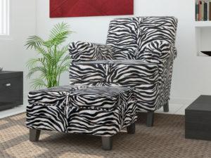 zebra upholstery